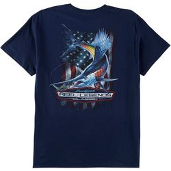 Reel Legends Mens Sailfish Classic T-Shirt
