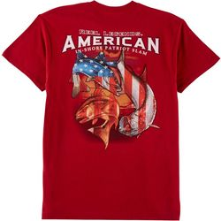 Reel Legends Mens American In-Shore Slam T-Shirt