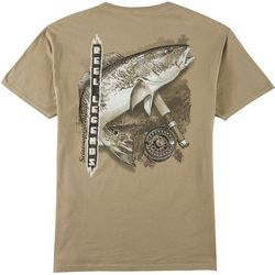 Reel Legends Mens Redfish Short Sleeve T-Shirt