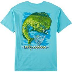Reel Legends Mens Mahi Mahi Short Sleeve T-Shirt