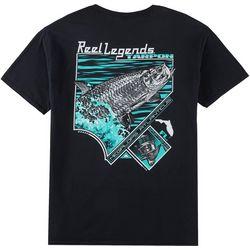Reel Legends Mens Tarpon Tech T-Shirt