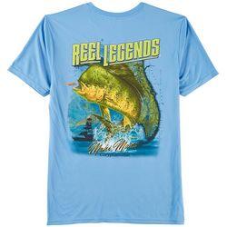 Reel Legends Mens Sunset Mahi T-Shirt