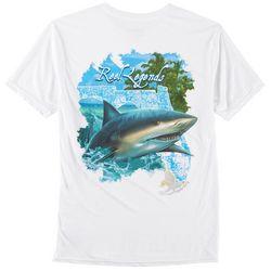 Reel Legends Mens Shark T-Shirt
