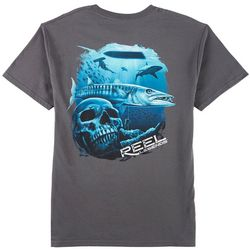 Reel Legends Mens Cuda Skull T-Shirt