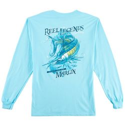 Reel Legends Mens Marlin Chase Long Sleeve T-Shirt