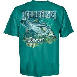 Reel Legends Mens Snook Short Sleeve T-Shirt
