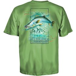 Reel Legends Mens Snook Grove T-Shirt