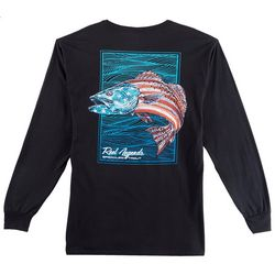 Reel Legends Mens Speckled Trout Long Sleeve T-Shirt