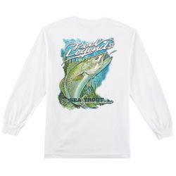 Reel Legends Mens Sea Trout Long Sleeve T-Shirt