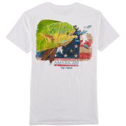 Reel Legends Mens American Dream Mahi T-Shirt