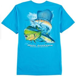 Reel Legends Mens Pure OS T-Shirt