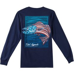 Reel Legends Mens Trout Glory Long Sleeve T-Shirt