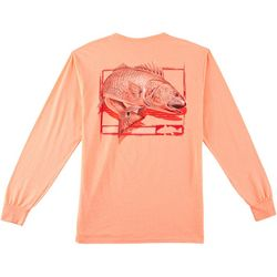 Reel Legends Mens Redfish Chase Long Sleeve T-Shirt
