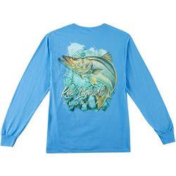 Reel Legends Mens Snook Waters Long Sleeve T-Shirt