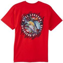 Reel Legends Mens American Tuna T-Shirt