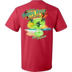 Reel Legends Mens Happy Hour Short Sleeve T-Shirt