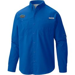 Florida Gators Mens PFG Tamiami Long Sleeve Shirt