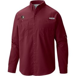 Florida State Mens PFG Tamiami Long Sleeve Shirt by Columbia