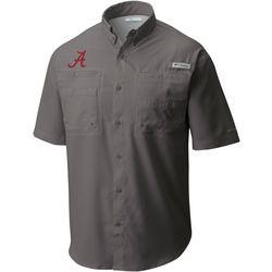 Alabama Mens Collegiate Tamiami Shirt by Columbia