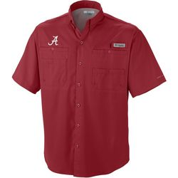 Alabama Mens Collegiate Tamiami Shirt by Columbia