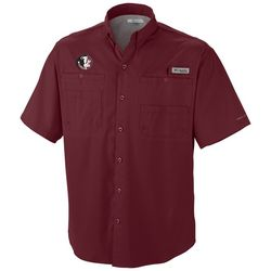 Florida State Mens Tamiami Shirt by Columbia