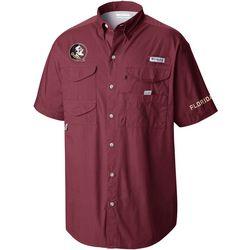 Florida State Mens Noles Cabernet Bonehead Shirt