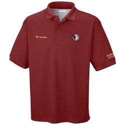 Florida State Mens Perfect Cast Polo Shirt by Columbia