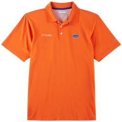 Florida Gators Mens PFG Skiff Polo Shirt By Columbia