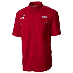 Alabama Mens Low Drag Offshore Shirt by Columbia