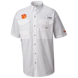 Clemson Tigers Mens Bonehead Shirt by Columbia