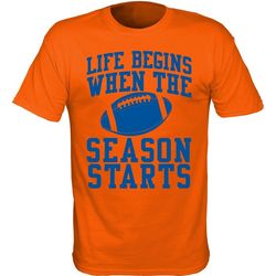 Florida Gators Mens Life Begins T-Shirt by TSI