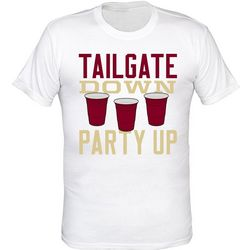 Florida State Tailgate Down T-Shirt by TSI