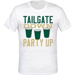 USF Bulls Mens Tailgate Down T-Shirt by TSI