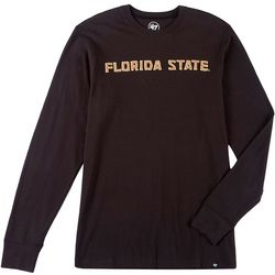 Florida State Mens Knockout Long Sleeve T-Shirt by 47 Brand