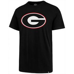 Georgia Bulldogs Mens Imprint Logo T-Shirt by 47 Brand