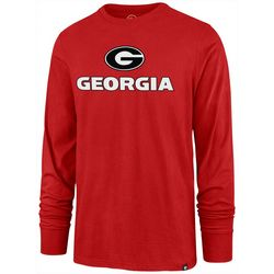 Georgia Bulldogs Mens Pregame T-Shirt by 47 Brand