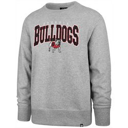Georgia Bulldogs Mens Varsity Block Pullover by 47 Brand