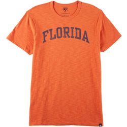 Florida Gators Mens Wordmark Scrum T-Shirt by 47 Brand