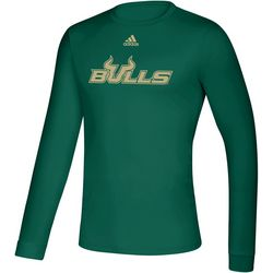 USF Bulls Mens Off Front T-Shirt by Adidas
