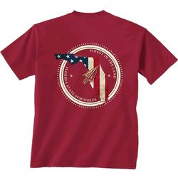 Florida State Mens Patriot Graphic T-Shirt