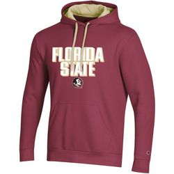 Florida State Mens Logo Hoodie by Champion