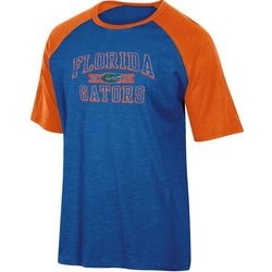 Florida Gators Mens Logo Raglan T-Shirt by Champion