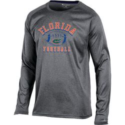 Florida Gators Mens Heathered Logo T-Shirt by Champion