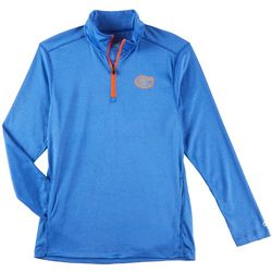 Florida Gators Mens Chest Logo Quarter Zip Jacket