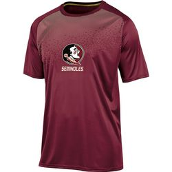 Florida State Mens Logo Ombre Crew T-Shirt by Champion