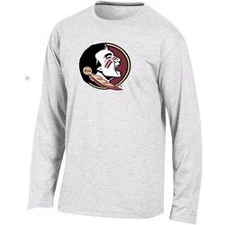 Florida State Mens Logo Long Sleeve T-Shirt by Champion