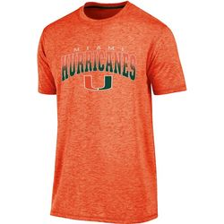 Miami Hurricanes Mens Arch T-Shirt by Majestic