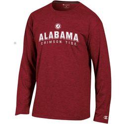 Alabama Mens Arch Logo Long Sleeve T-Shirt