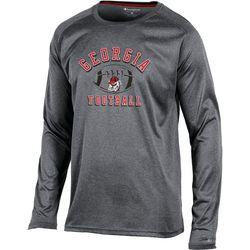 Georgia Bulldogs Mens Block Logo Long Sleeve T-Shirt