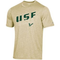 USF Bulls Mens Heathered Crew T-Shirt by Champion